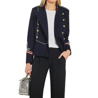 Isabel Marant Milford Twill Military Jacket