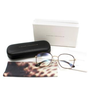 Victoria Beckham Fine Windsor Rim Square Optical Glasses