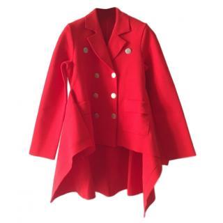 Sonia Rykiel Milano Stitch Peplum Jacket