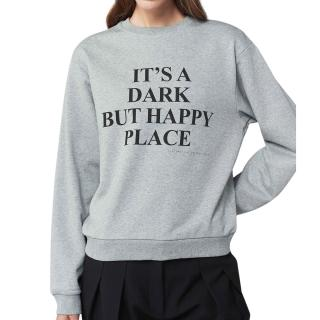 Victoria Beckham It's A Dark But Happy Place Sweatshirt