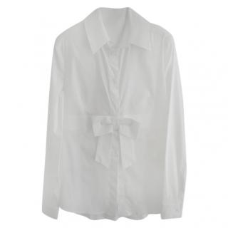 Red Valentino Bow Detail Tailored Shirt