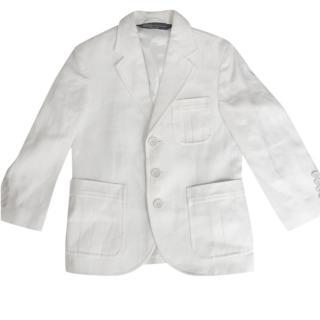 Polo Ralph Lauren Boy�s Tailored White Jacket