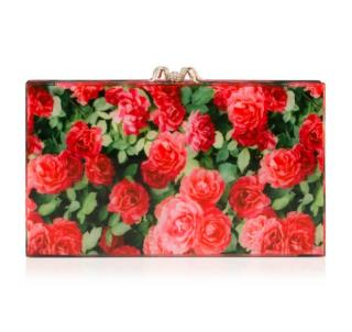 Charlotte Olympia Rose Garden Pandora Clutch