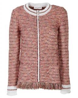Sonia Rykiel Tweed Zipped Cardigan