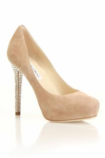 Jimmy Choo Nude Silky Pumps