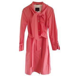 Mulberry coral dress coat