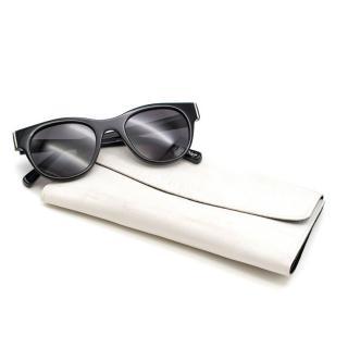 Elizabeth and James Black Round Blaire Sunglasses