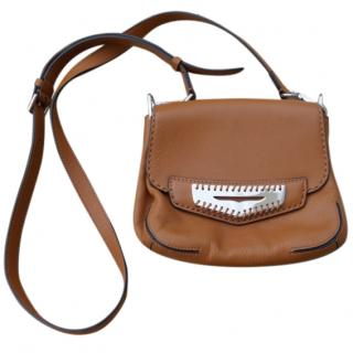 Tod's Brown Leather Small Crossbody Bag