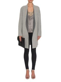 Rag & Bone Singer reversible wool and cotton-blend coat