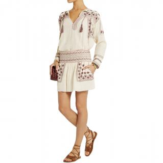 Isabel Marant Embroidered Vicky Top & Vera Skirt