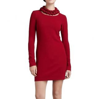 Diane Von Furstenberg Giada Scarlet Dress
