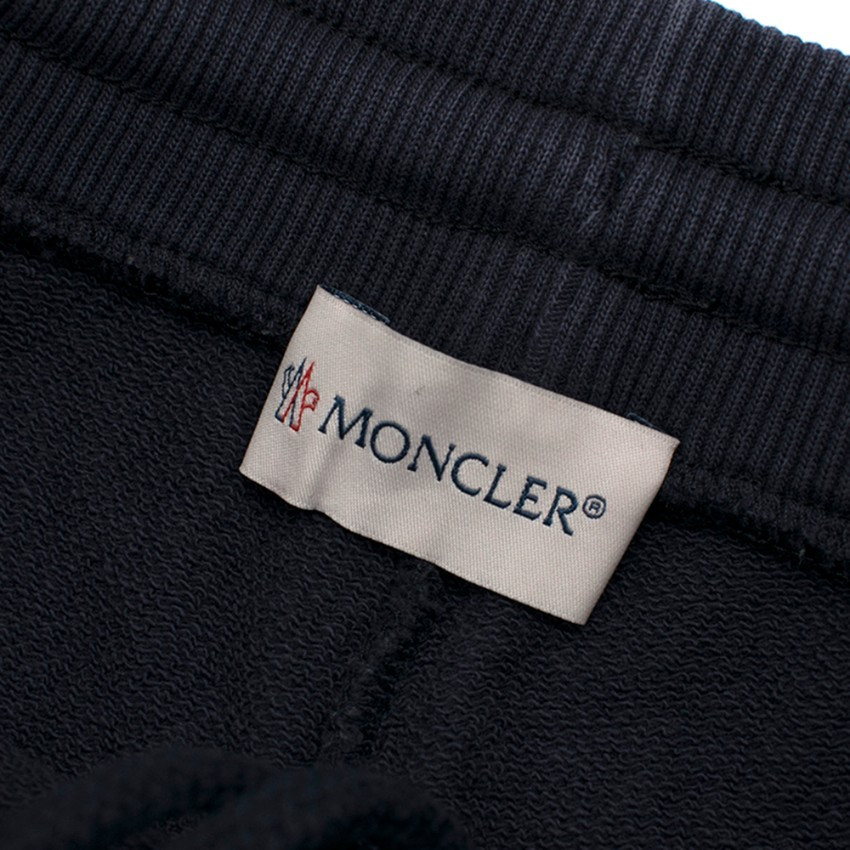 f80fd0c30 Moncler Boys 5Y Navy Cotton Shorts