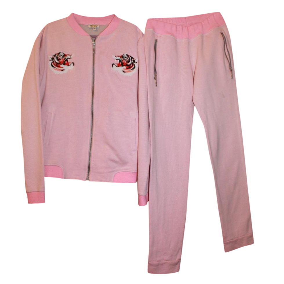 Kenzo Girl's 14 years Pink Tracksuit