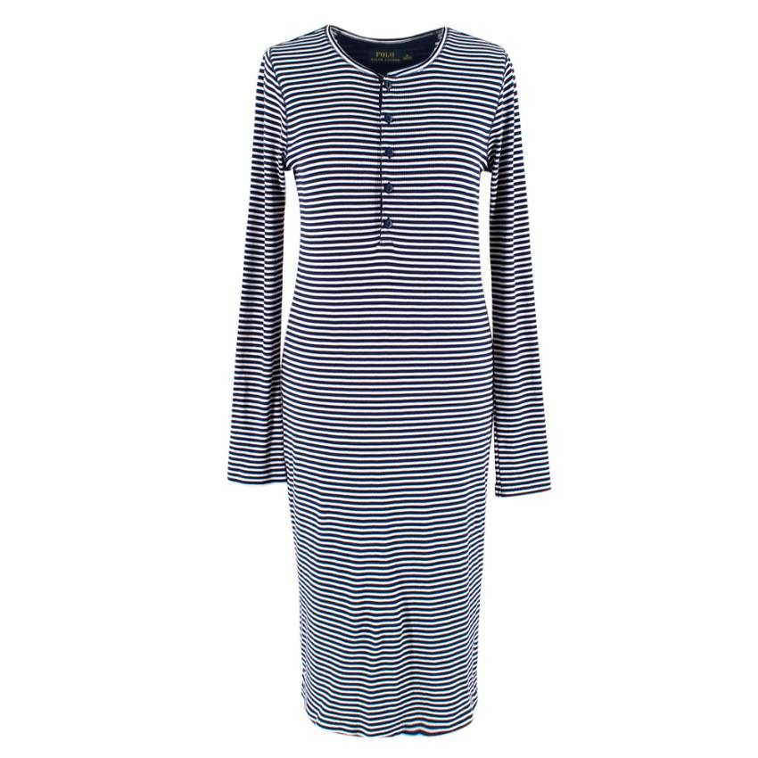 Polo Ralph Lauren Striped Polo Midi Dress