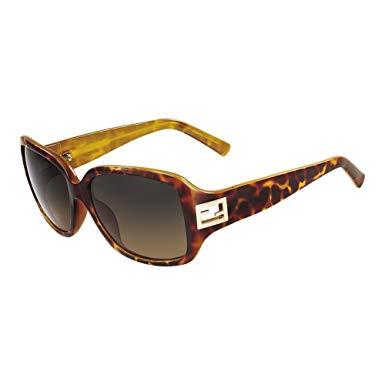 Fendi tortoiseshell acetate sunglasses