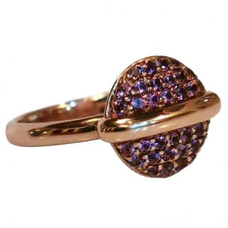 Fiorelli Garnet Button Ring