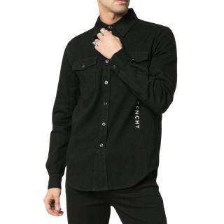 Givenchy Black Logo Shirt
