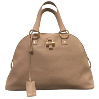 YSL Beige Leather Muse Bag