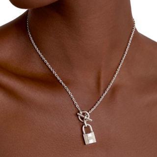 Hermes Kelly Lock Pendant Necklace