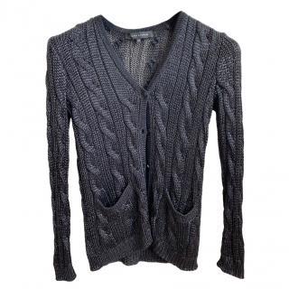 Ralph Lauren black label knit top