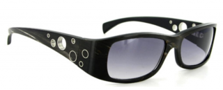 Gold & Wood Black Horn & Ebony UDAIPUR 1 Sunglasses