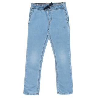 Petit Bateau Girl's Light Denim Jeans