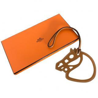 Hermes Natural Paddock Cheval Bag Charm - New in Box