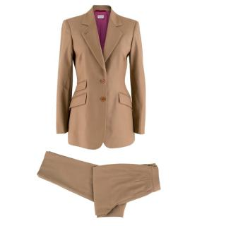 Paul Smith Wool Light Brown Trousers and Blazer