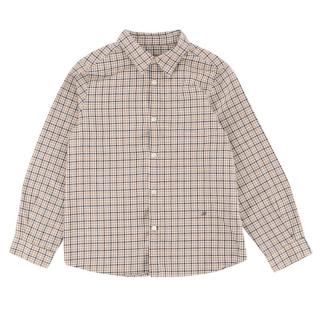 Bonpoint Boy's Checkered Button-up Top