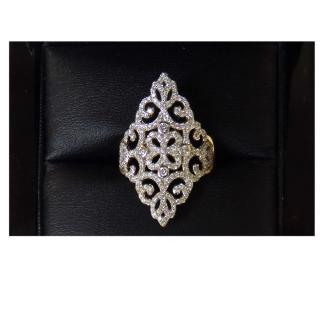 Cavill 0.68ct Diamond Filigree Ring
