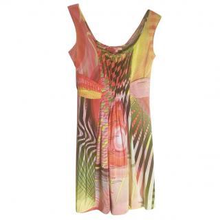 Sarah Arnett Silk Printed Dress