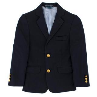 Tommy Hilfiger Boy's Navy Smart Twill Blazer