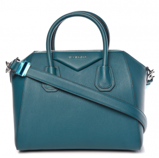 Givenchy ocean blue antigona tote bag