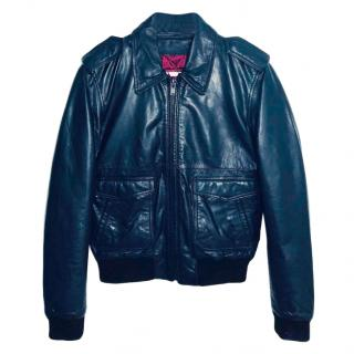 BLK DNM Black Leather Biker Jacket