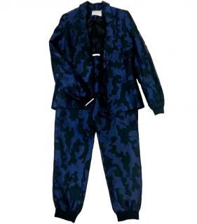 Zoe Jordan Blue & Black Camo Sport Suit