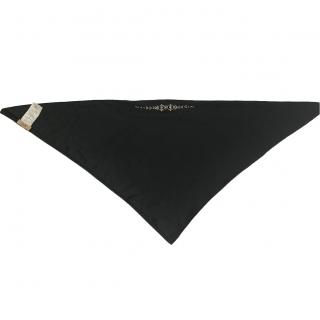 No. 21 Black Crystal Embellished Scarf
