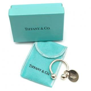 Tiffany & Co Silver Horseshoe Key Ring