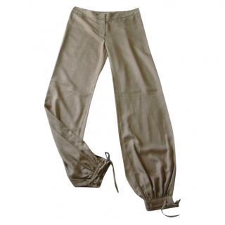 Paul & Joe Beige Woven Pants