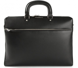 Ermenegildo Zegna Black Classic Laptop Case