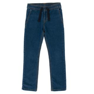 Petit Bateau Children's 6 Years Blue Jeans