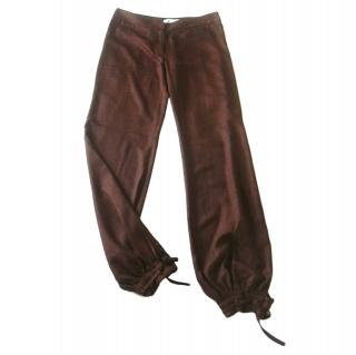 Paul & Joe Brown Woven Pants