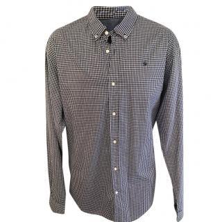 Scotch & Soda Navy & White Check Shirt