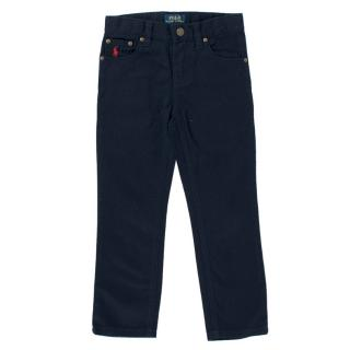 Polo Ralph Lauren Boy's Navy Trousers
