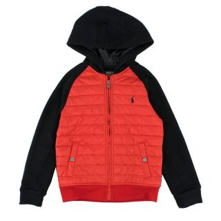 Polo Ralph Lauren Red and Black Down Jacket
