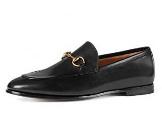 Gucci Jordaan Black Loafers