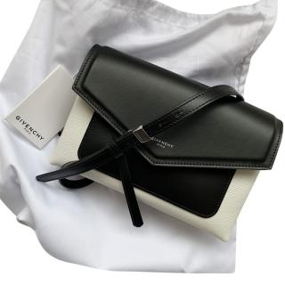 Givenchy Duetto Leather Crossbody Bag