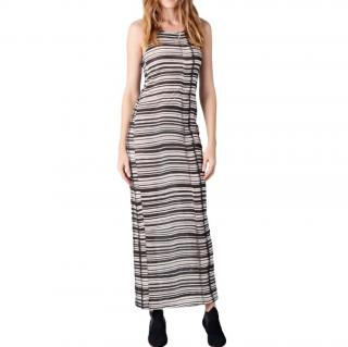 Acne Colleen Striped Midi Dress