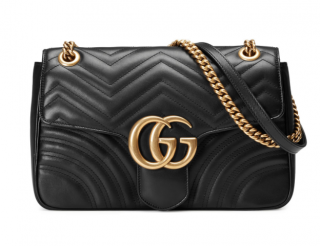 GG Marmont Medium Quilted Shoulder Bag