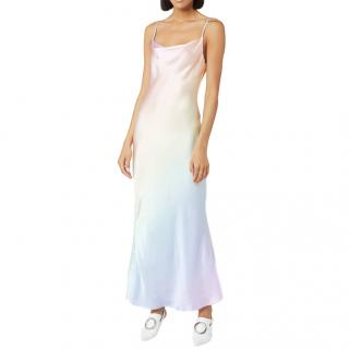 Olivia Rubin Lia degrad� silk dress