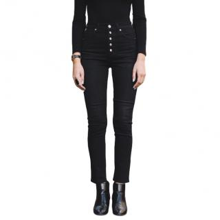 Citizen of Humanity Olivia High Rise Slim Ankle Black Jeans
